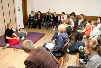 Physiotherapy parallel session at the Warsaw Workshop